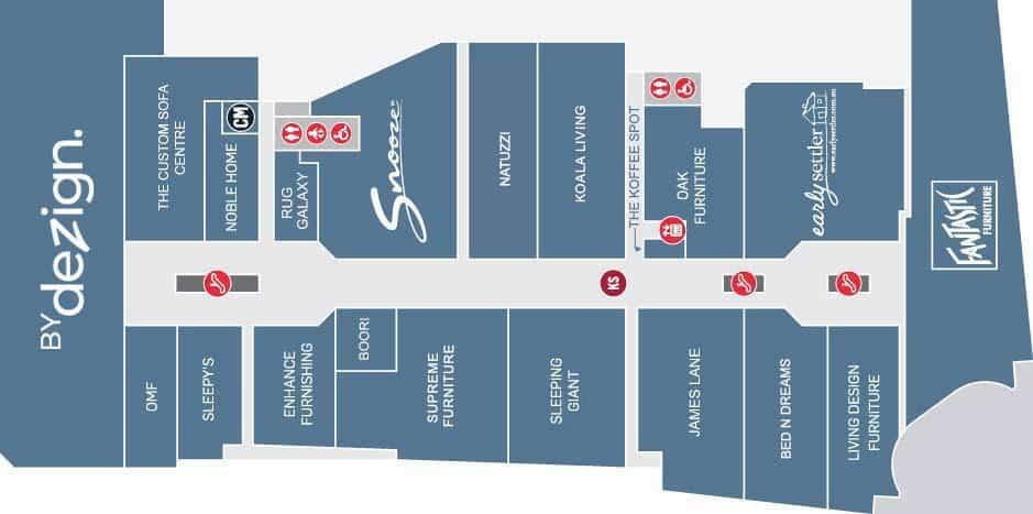 Subway Map To Supreme Store.Store Level 1 Primewest Auburn Megamall